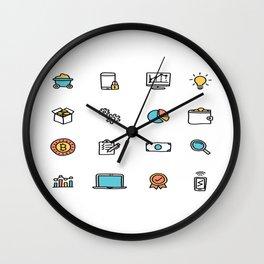 The Future Is Bitcoin Wall Clock
