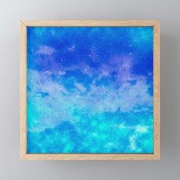 Sweet Blue Dreams Framed Mini Art Print