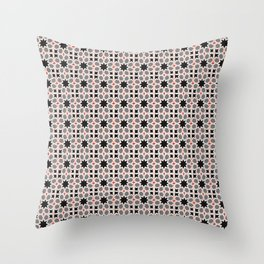 Azulejo, Geometric Pattern Throw Pillow