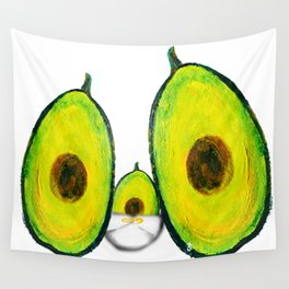 Baby Avocado we Love You Wall Tapestry