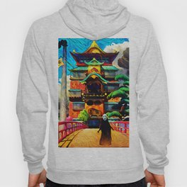 Colorful No face Hoody
