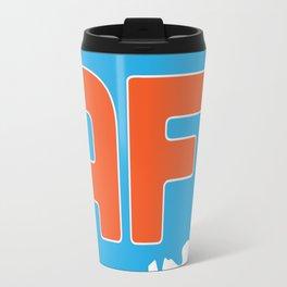Animation Force Logo (White) Travel Mug