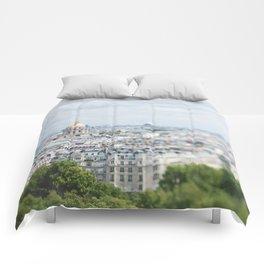 Paris Landscape - TiltShift Comforters