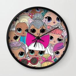 L.O.L Surprise Dolls Wall Clock