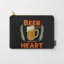 Beer never broke my heart alcohol Carry-All Pouch