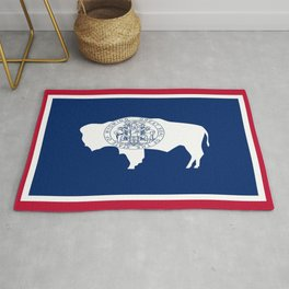 flag wyoming,america,usa,west,moutain, equality,Wyomingite,Cheyenne,Casper,Laramie Rug
