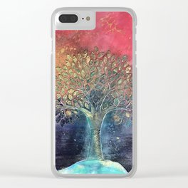 Life of Tree Clear iPhone Case