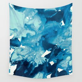 inkblot marble 11 Wall Tapestry