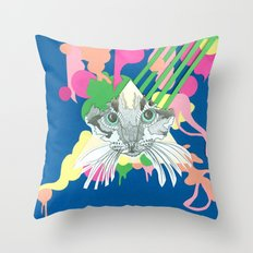 Cats Eyes Throw Pillow
