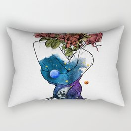 Roots of love. Rectangular Pillow