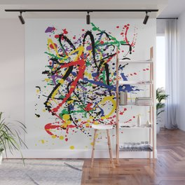 Pollock Remembered by Kathy Morton Stanion Wall Mural