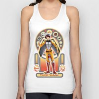 digimon Tank Tops featuring Digimon Cards: Tai by Dralamy