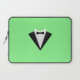 Black Tuxedo Suit with bow tie T-Shirt D946n Laptop Sleeve
