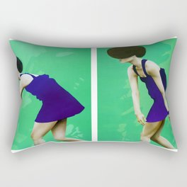 ALLA RICERCA DI ME STESSA - FUGA 1&2 Rectangular Pillow