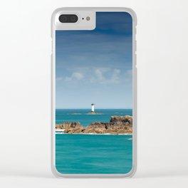 Pierre de Herpin Lighthouse Clear iPhone Case