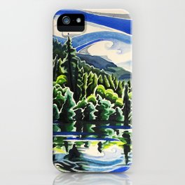 Going With the Flow iPhone Case