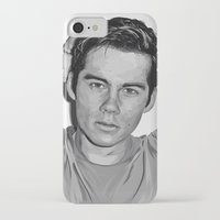 dylan iPhone & iPod Cases featuring Dylan  by Finduilas