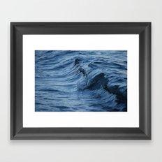 Raw Wet Framed Art Print