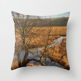 Jaron`s Tree Throw Pillow