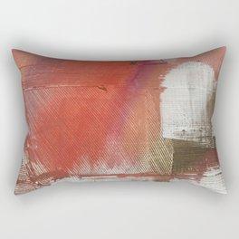 California Sun [2]: a minimal, abstract piece in reds and gold by Alyssa Hamilton Art Rectangular Pillow