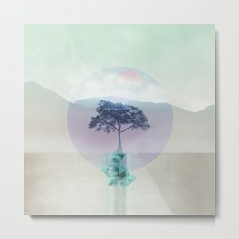 Lone Tree love 01 Metal Print