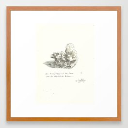 what do you see 3 Framed Art Print