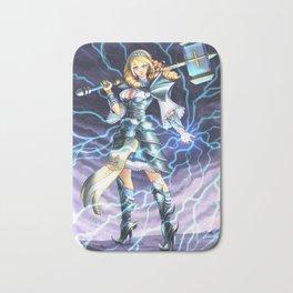 Goddess of Thunder Bath Mat