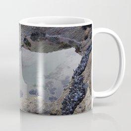 Rock Pool Amongst Mussel Beds Coffee Mug