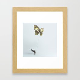 Without a Thought Framed Art Print