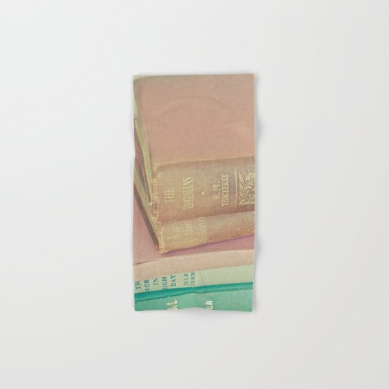 Book Lover Hand & Bath Towel