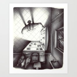 Il Frigo Art Print