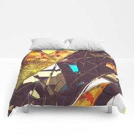 Fractured Time Comforters