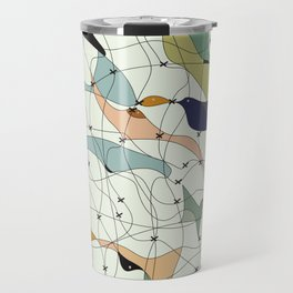 Chained birds Travel Mug