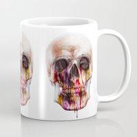 true blood Mugs featuring True Blood B by beart24