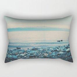 as the sun goes down ... Rectangular Pillow