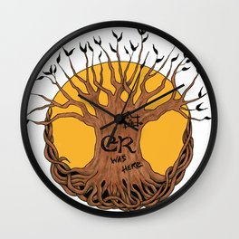 Eclectic Revival - Official Logo Wall Clock