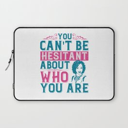 Women Motivation - Who You Are Laptop Sleeve