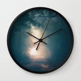 Into the Light II Wall Clock