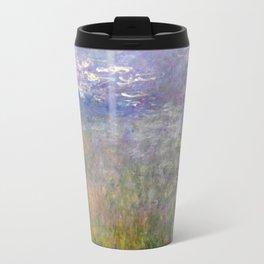 Water Lilies by Claude Monet, circa 1915-1926 Travel Mug