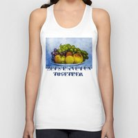 fruits Tank Tops featuring Summer fruits by digital2real