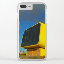 Lost Places 758_B, the Lithuanian Pavillon Clear iPhone Case