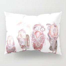 Vintage Cute Old men Pillow Sham
