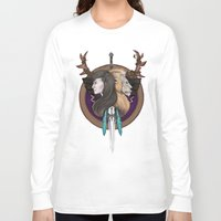 warcraft Long Sleeve T-shirts featuring Lions! Make You Brave by Emily Anne Daugherty