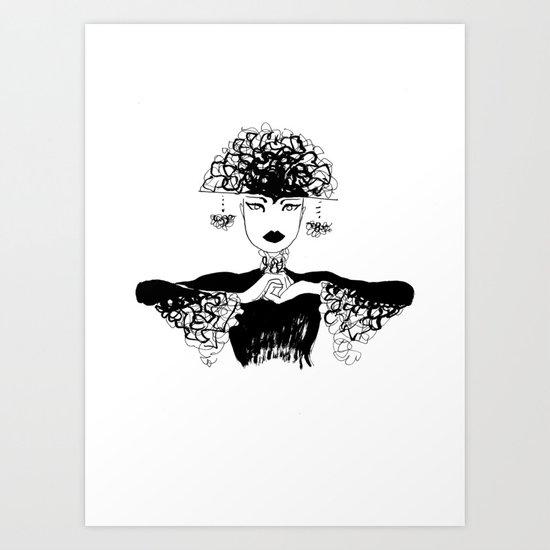 Beautiful challenge Art Print