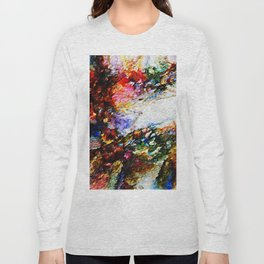 Julies Gems Abstract Long Sleeve T-shirt