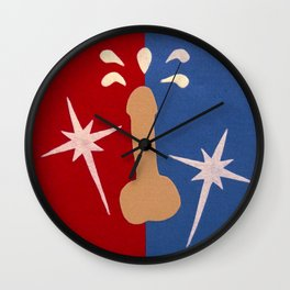Felt Penis: Super Schlong Wall Clock