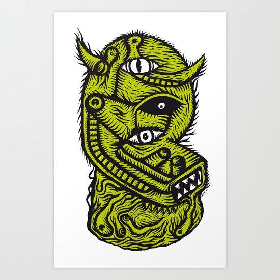La nef des fous - the print Art Print