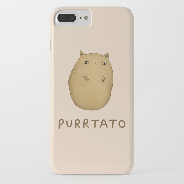 purrtato iphone case