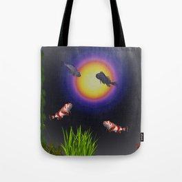 Light Board Icarus Tote Bag