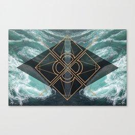 So Dramatic Canvas Print